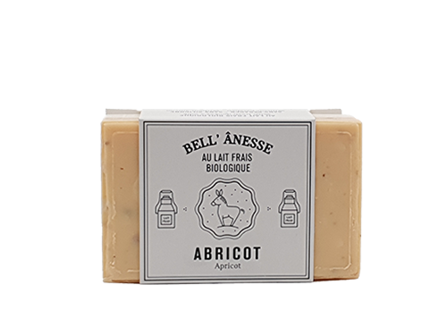 Savon double face abricot